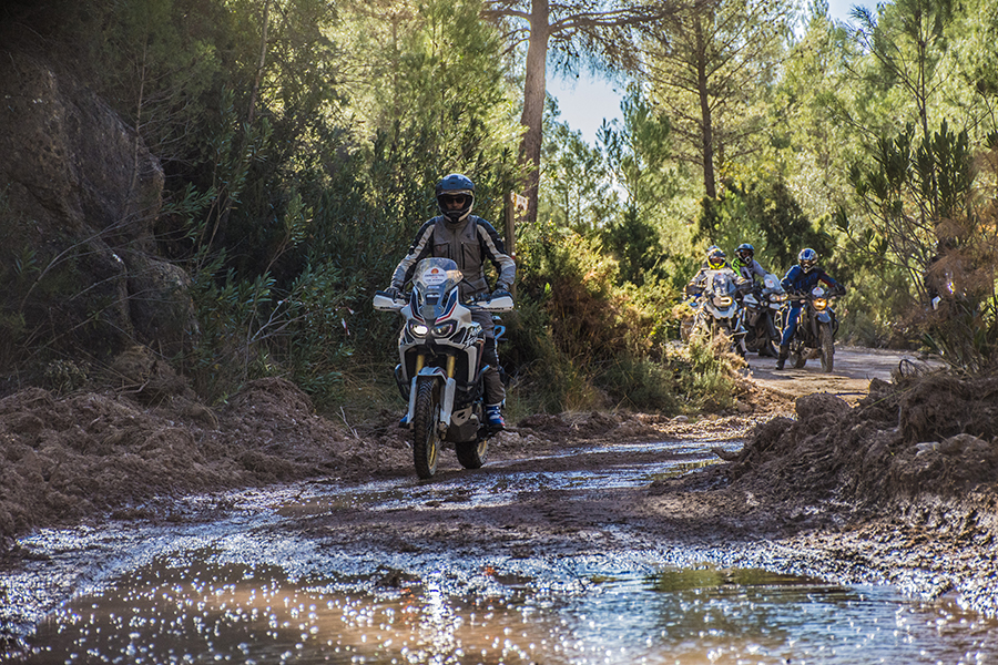 Curso moto trail personalizado One to One