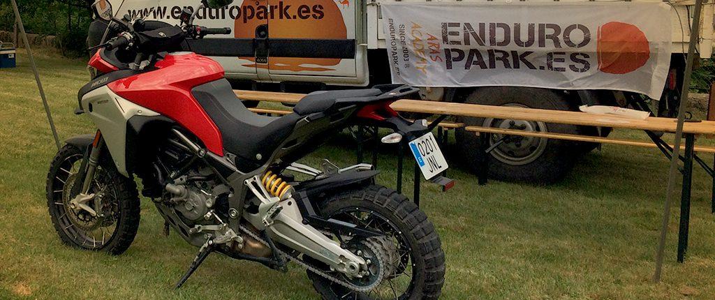 Nueva Ducati Multistrada Enduro 1260 - Viajes Moto Trail - Enduropark