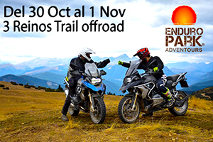 Viaje en Moto Trail o Enduro TRES REINOS