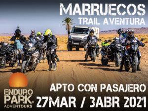Viaje Marruecos moto trail aventura