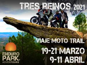 Viaje en moto trail o enduro Tres Reinos Enduropark